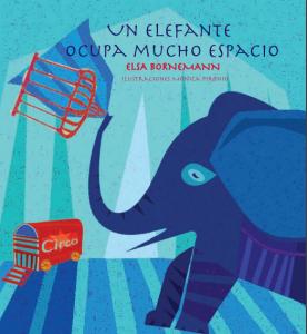 Un elefante ocupa