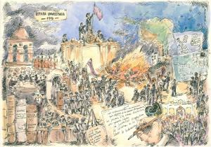 Historieta UNC 400 años - Reforma Universitaria